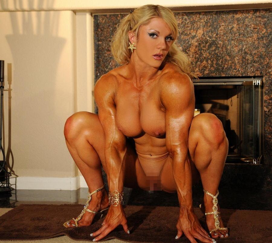 女ボディビルダー全裸綺麗